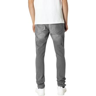 Pantaloni bărbătești URBAN CLASSICS - Slim Fit Knee Cut Denim, URBAN CLASSICS