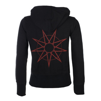Hanorac de damă cu glugă Slipknot - 9-Point Star Back - ROCK OFF, ROCK OFF, Slipknot