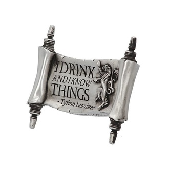 Magnet Game of thrones - I Drink and I Know, NNM, Urzeala tronurilor