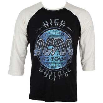 tricou stil metal bărbați AC-DC - HIGH VOLTAGE - LIVE NATION, LIVE NATION, AC-DC