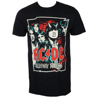 tricou stil metal bărbați AC-DC - CARTOON - LIVE NATION, LIVE NATION, AC-DC