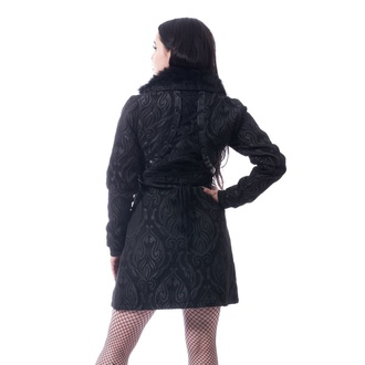 Palton de damă Poizen Industries - CRAFT COAT - NEGRU, POIZEN INDUSTRIES