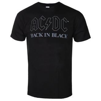 Tricou bărbați AC DC - Back In Black - BL - ROCK OFF - ACDCTS82MB