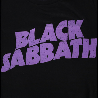 Tricou de damă Black Sabbath - Wavy Logo - ROCK OFF, ROCK OFF, Black Sabbath