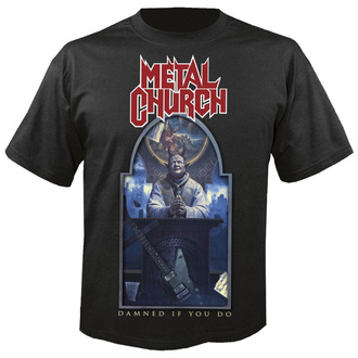 tricou stil metal bărbați Metal Church - Damned if you do - NUCLEAR BLAST, NUCLEAR BLAST, Metal Church
