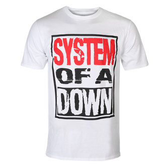Tricou bărbătesc System Of A Down - Triple Stack - WHT - ROCK OFF, ROCK OFF, System of a Down
