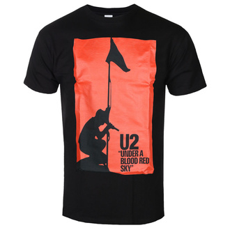 Tricou bărbătesc U2 - UNDER ABLOOD RED SKY - NEGRU - GOT TO HAVE IT, GOT TO HAVE IT, U2