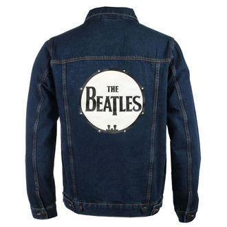 Geacă bărbați Beatles - Drum Logo - DENIM - ROCK OFF, ROCK OFF, Beatles