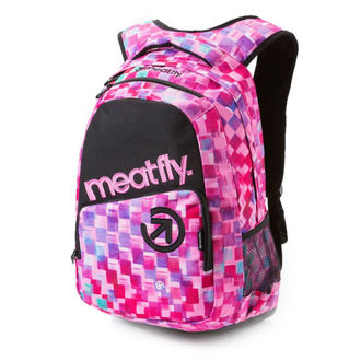 Rucsac MEATFLY - Exile - F Cross Pink / Black, MEATFLY