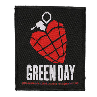 Petic GREEN DAY - HEART GRENADE 1 - RAZAMATAZ, RAZAMATAZ, Green Day