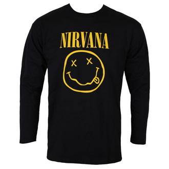 tricou stil metal bărbați Nirvana - SMILEY LOGO - PLASTIC HEAD, PLASTIC HEAD, Nirvana
