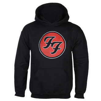 Hanorac bărbătesc cu glugă  FOO FIGHTERS - RED CIRCULAR LOGO - NEGRU - GOT TO HAVE IT, GOT TO HAVE IT, Foo Fighters