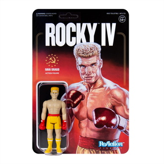 Figurină Rocky - 4 ReAction - Ivan Drago, NNM, Rocky