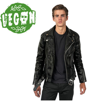 geacă de piele - Vegan Commando II - STRAIGHT TO HELL, STRAIGHT TO HELL