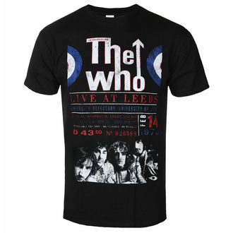 Tricou The Who pentru bărbați - Live At Leeds '70 - ROCK OFF, ROCK OFF, Who