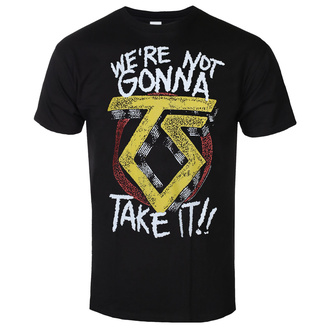 Tricou Twisted Sister pentru bărbați - We´re Not Gonna Take It - Negru - HYBRIS, HYBRIS, Twisted Sister