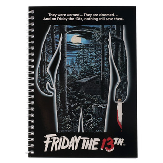 Agendă Friday the 13th - Movie Poster, NNM, Friday the 13th