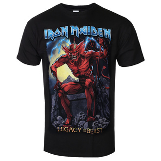 tricou stil metal bărbați Iron Maiden - Legacy of the Beast 2 Devil - ROCK OFF, ROCK OFF, Iron Maiden