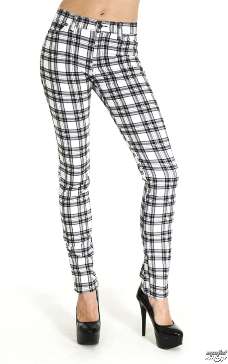 Pantaloni (unisex) 3RDAND56th - CHECKED SKINNY JEANS